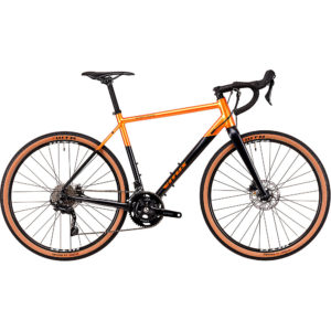 Vitus Substance VR-2 Adventure Road Bike 2020 - Anthracite-Orange - XS