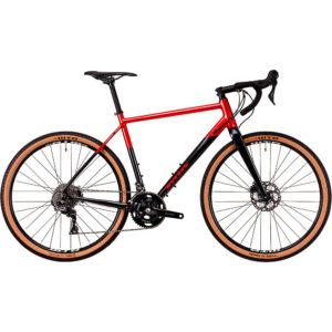 Vitus Substance VRS-2 Adventure Road Bike 2020 - Anthracite-Red - XS
