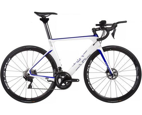 Orro Venturi Evo TRI 7020 R400 Bike 2020 - White - Blue