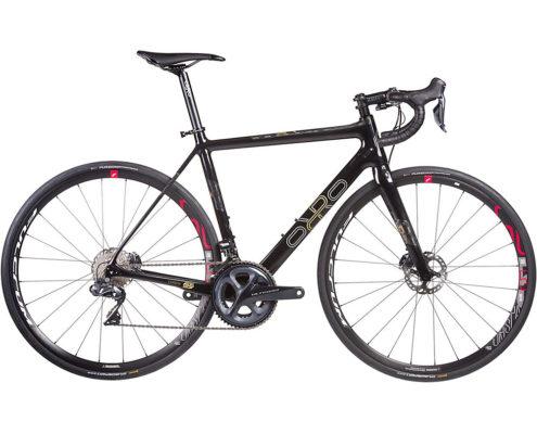 Orro Gold STC R8070 Di2 R500 Road Bike 2020 - Black - Gold
