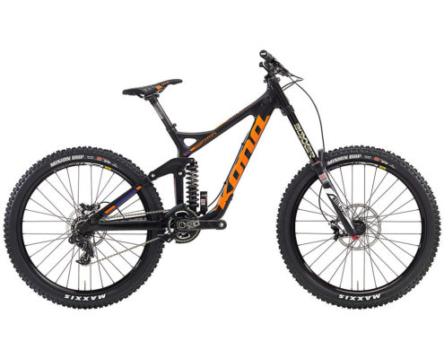 Kona Supreme Operator Downhill Bike 2016 - Black