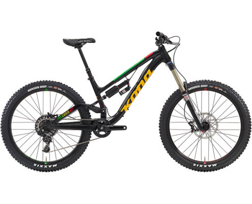 Kona Process 167 Full Suspension Bike 2016 - Black