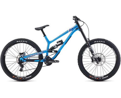Commencal Furious Essential Fox Suspension Bike 2020 - Blue