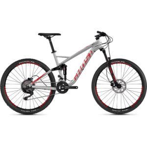 Ghost Kato FS 2.7 Bike 2020 - Silver - Red