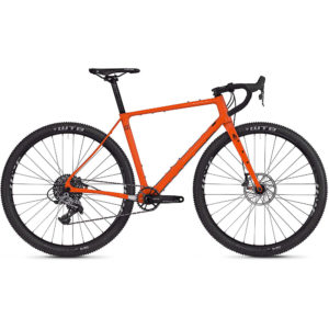 Ghost Fire Road Rage 6.9 Adventure Road Bike 2020 - Orange - Black