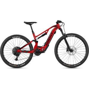Ghost Hybride ASX 2.7+ Suspension E-Bike 2020 - Red - Black