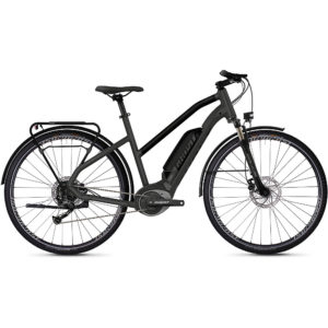 Ghost Hybride Square Trekking W B1.8 E-Bike 2020 - Grey - Black