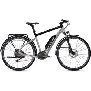 Ghost Hybride Square Trekking B2.8 E-Bike 2020 - Silver - Black - M