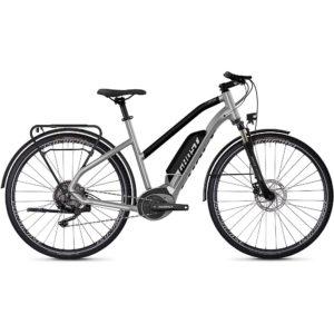 Ghost Hybride Square Trekking W B2.8 E-Bike 2020 - Silver - Black - XS