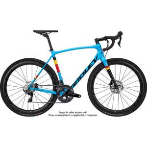 Ridley Kanzo Speed 105 Mix HD Adventure Bike 2020 - Blue - Black