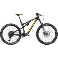 Nukeproof Reactor 275 Pro Carbon Bike (GX Eagle) 2020 - Matt Black - Yellow - XL