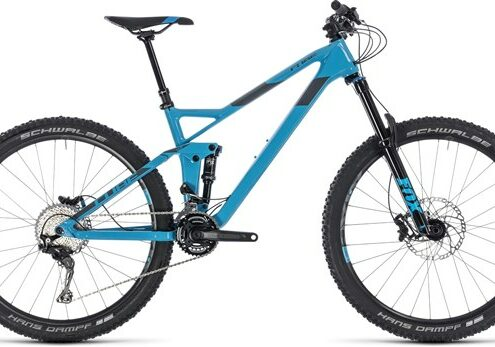 """Cube Stereo 140 HPC Race 27.5"""" - Nearly New - 20"""" 2018 - Trail Full Suspension MTB"""